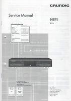 Grundig Service Anleitung Manual T 22  B890
