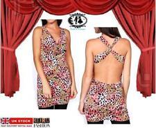 Petite Viscose Cowl Neck Dresses for Women