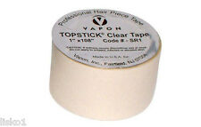 """Vapon TOPSTICK Mens Clear Grooming tape 1""""x108"""" Clear Hairpiece Tape"""