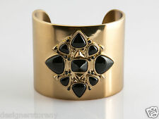 House of Harlow 1960 Nicole Richie Kaleidoscope Cuff in Gold/Black