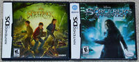 Nintendo DS NDS Lot - The Spiderwick Chronicles (Used) The Sorcerer's Apprentice