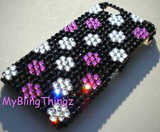DOTS Crystal Rhinestone Bling Back Case for iPhone 5 5S with Swarovski Elements