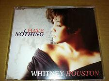 WHITNEY HOUSTON I have nothing 4TRX CD single 1990 SEALED 743211461429
