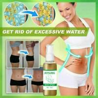 10/30ml Slimming Spray Anti Cellulite Fat Burner Weight Serum Loss Firming D5K8