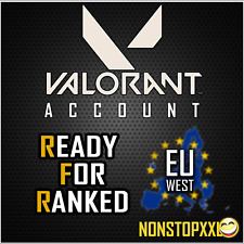 Valorant Account (EU West) | READY FOR RANKED (RFR) + Full Access / Change Email