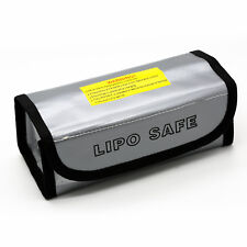 2x RC LiPo Battery Fireproof Explosion proof Guard Charging Safe Bag 185x75x60mm