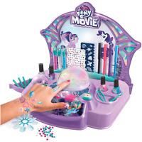 My Little Pony Nail Salon Spa Beauty Makeover Salon Kit Toy Set Gift NEW