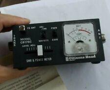 RARE Vintage Ham Radio SWR & Power Meter CB175C & Manual Recoton CB Tester LOOK