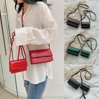 Women Retro Serpentine Crossbody Bags Messenger Bag Shoulder Bag Handle Bags