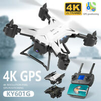 KY601G Portable Folding 4K HD WIFI 5G • GPS Positioning RC Quadcopter Drone Set
