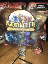 Gormiti Playset 2 Figures 2 Game Cards New Invincible Lords of Nature Series 1