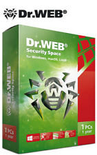 Dr.Web Security Space 1 device 1 year + android!