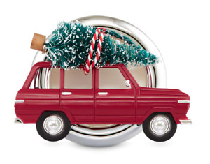 BATH & BODY WORKS CHRISTMAS ROAD TRIP TREE SCENTPORTABLE HOLDER CAR VISOR CLIP