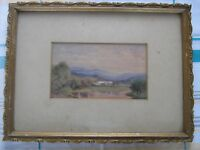 Original watercolour by Royal Academy artist Edwin Moore 1813-1893