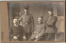 CAB photo Soldaten - Kiel 1910er