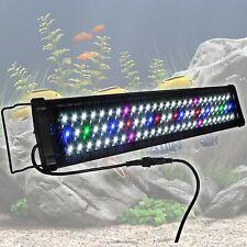 """78 LED Aquarium Lighting 24""""- 30"""" Fish Tank Light Full Spectrum Multi Color 0.5W"""