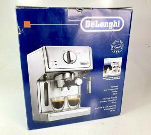 DeLonghi ECP3620 15 Bar Espresso and Cappuccino Maker Machine Silver EUC