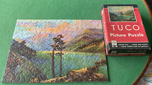 VINTAGE TUCO PUZZLE (SUNSET IN NORTHWEST) COMPLETE