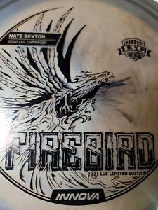 BLACK on BLACK Innova 2021 Nate Sexton Limited Edition LVC Firebird 175g