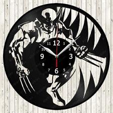 Wolverine Vinyl Record Wall Clock Decor Handmade 2108