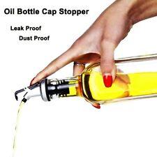 Olive Oil Sprayer Liquor Dispenser Wine Pourers Flip Top Beer Bottle Cap Stopper