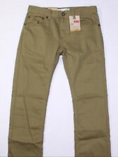 LEVI'S Boy's 511 Slim Fit Olive Green Jeans, Size 16 x 28, NEW!!