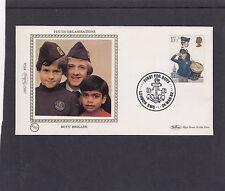 GB 1982 organizaciones juveniles 15.5p chicos Brigada Benham FDC lndon SW6 especial H/S