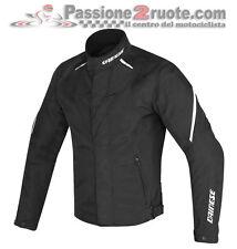 Giacca moto Dainese Laguna Seca D1 D-dry nero bianco 948 4 stagioni