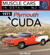 BARRACUDA 1971 PLYMOUTH BOOK 'CUDA IN DETAIL MUSCLE NILSSON OLA