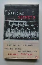 Official Secrets - What The Nazis Planned... Richard Breitman / Holocaust / WW2