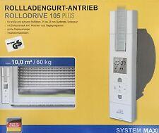 Schellenberg RolloDrive 105 Plus Gurtwickler, Rolladengurtantrieb OVP Neu