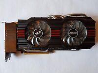 ASUS NVIDIA GeForce GTX670-DC2T-2GD5 2GB DirectCU II TOP Grafikkarte wie neu