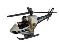 Playmobil 9372 Polizei Hubschrauber Figur Rettung Fahrzeug Spielzeug Neu