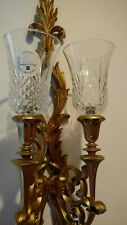Vintage Sconce With Votive Cups