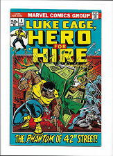 "HERO FOR HIRE #4  [1972 VG+]  ""THE PHANTOM OF 42nd STREET!"""