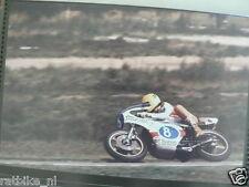 S1147-TAKAZUMI KATAYAMA YAMAHA 350 CC ASSEN 1977 NO 8 PHOTO COLOR MOTO SAROME