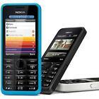 Nokia Asha 301 Basic Big Button Phone Blue White Black Yellow Warranty - Good