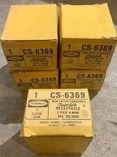 NIB Hubbell CS6369 Twist-Lock Locking Receptacle 50A 125/250V 3-Pole 4-Wire