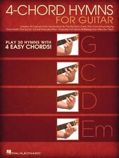 4-Chord Hymns for Guitar Sheet Music Play 30 Hymns Four Easy Chords 000140841