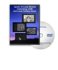 Apollo 10 Lunar Module Undocking, CSM and Lunar Surface Views DVD - C741