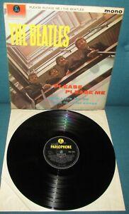THE BEATLES Please Please Me ORIG UK Black & Yell PARLOPHONE 1963 STUNNING AUDIO