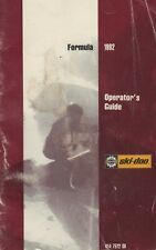New listing 1992 Ski-Doo Snowmobile Formula Plus,Mach 1 Operator'S Manual 414 7522 00 (747)