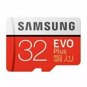 Samsung Evo Plus 32GB Class 10 SDHC Memory SD Card