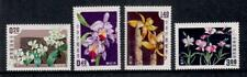 1958 Taiwan Orchids Serie Nuova senza linguelle New MNH