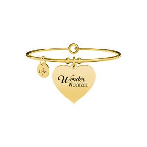 Bracciale Kidult Discover Your Life Collezione Love Wonder Woman Gold 731646