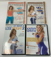 Kathy Smith 4 Fitness Exercise Workout DVD Lot
