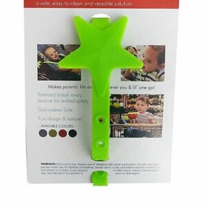 Baby Star Pacifier Chain Strap Silicone Stroller Hooks Non Toxic Holder Infant