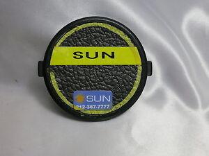 "67mm snap-on Front Lens Cap sticker ""Sun"" - Korea 2116019"
