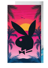 PLAYBOY BUNNY TROPICANA BATH BEACH SWIMMING TOWEL GIFT IDEA