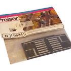 Sheets Rubber Road Preiser 9634 N 1:160 Zebra Pedestrian Crossing 3PZ